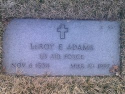 LeRoy Eugene Roy Adams