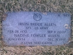 Irvin Bruce Allen