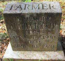 Alatha <i>Tucker</i> Farmer