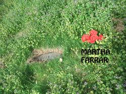 Martha <i>Osborn</i> Farrar