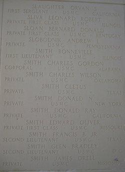 1Lt Bonneville Smith