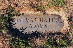 Martha Amanda Liney Adams