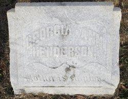 Georgia Ann <i>McMullen</i> Henderson