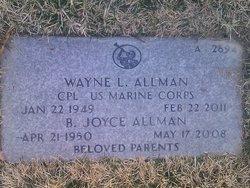 Wayne Leslie Allman