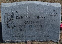 Carolyn Jean <i>Moss</i> Bader