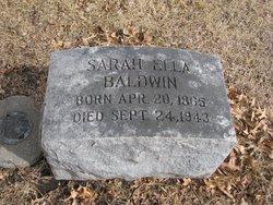 Sarah Ella <i>Stone</i> Baldwin
