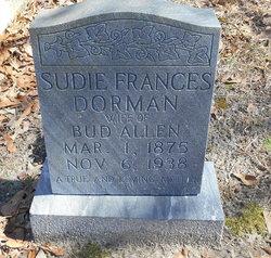 Sudie Frances <i>Dorman</i> Allen