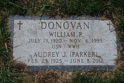 Audrey J <i>Parker</i> Donovan