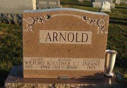 Infant Daughter Arnold