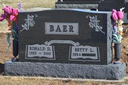 Ronald D Baer