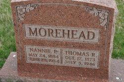 Nannie Permelia <i>Bell</i> Morehead