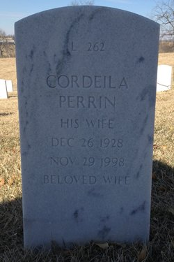 Cordeila Cordie <i>Warren</i> Perrin