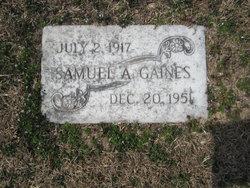 Samuel A. Gaines