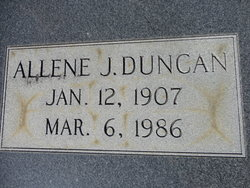 Edna Allene <i>Jones</i> Duncan