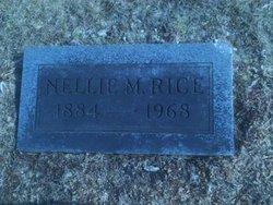 Nellie M Rice