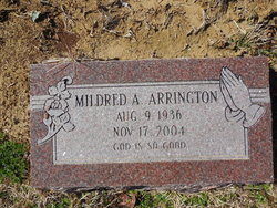 Mildred Ann <i>Austin</i> Arrington