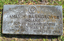Sgt James William Barngrover