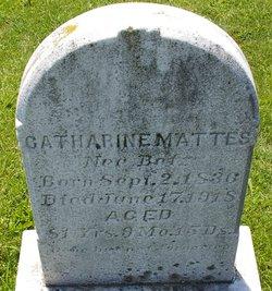 Catharine <i>Betz</i> Mattes