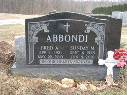 Sunday Marie <i>DiFilippo</i> Abbondi