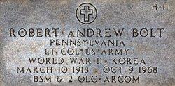 LTC Robert Andrew Bolt