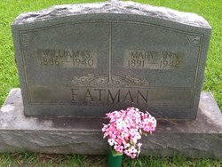 Mary Ann <i>Tannehill</i> Eatman