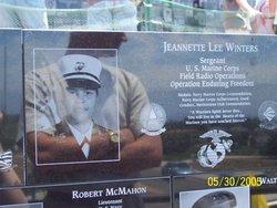 Sgt Jeannette Lee Winters