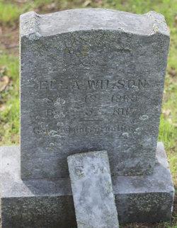 Ella <i>Bagley</i> Wilson