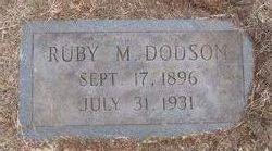 Ruby Elsie <i>Massengill</i> Dodson