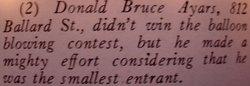 Donald Bruce Ayars