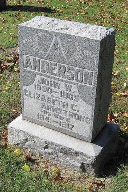 Elizabeth Clamensia <i>Armstrong</i> Anderson