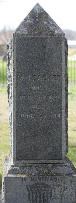 Mary Jane <i>McGown</i> Parker