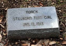 Stillborn Twin Girl Noack
