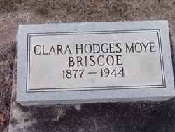 Clara Ophelia <i>Hodges</i> Moye Briscoe