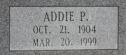 Addie P. Capps