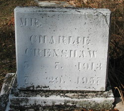 Charlie Crenshaw, Sr