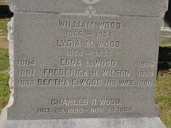 Bertha E <i>Wood</i> Wilson