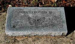 Horace Crenshaw, Sr
