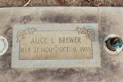 Alice Louise <i>Nall</i> Brewer