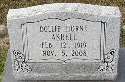 Dollie <i>Horne</i> Asbell