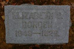 Elizabeth <i>Snyder</i> Borden
