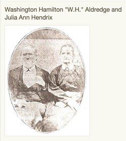 Washington Hamilton W. H. Aldridge