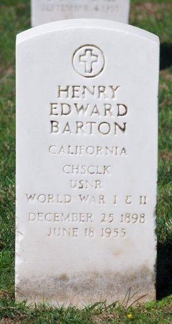 Henry Edward Barton