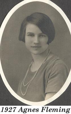 Agnes T <i>Fleming</i> Darland