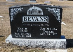 Keith Duane Bevans