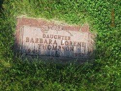 Barbara Lorene Thompson