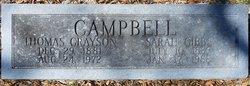 Sarah <i>Gibbs</i> Campbell