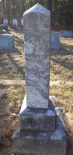 Martha Mattie <i>Parker</i> Clifton