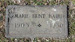 Marie <i>Hunt</i> Baird