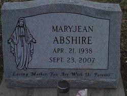 MaryJean <i>Miller</i> Abshire