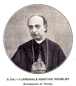 Cardinal Agostino Richelmy